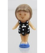 1990 Polly Pocket Vintage Doll Figure Little Lulu in her Necklace - Lulu - $7.50
