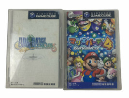 Final Fantasy Crystal Chronicles Nintendo GameCube Video Game Free Mario Party 4 - $28.05