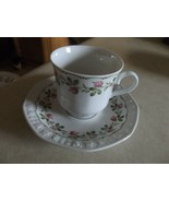 Wintering cup and saucer 6 available - $5.20