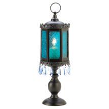 Exotic Azure Pedestal Lantern 10013401 - £20.77 GBP