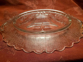 200 Years Ago Declaration Independence Pressed Glass Platter - Anchor Hocking image 6