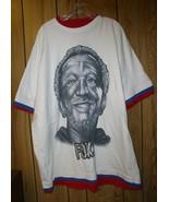 Redd Foxx T Shirt Silver Glitter Logo R+B Gearlab Size 2XL - $99.99