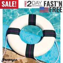 Swimline Foam Round Ring Pool Buoy Safety Flotation Boat Throw Tool Life... - $31.10