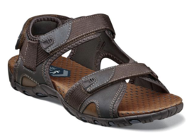 Nunn Bush Rio Bravo Three Strap River Sandal Brown 84798-200 - $84.77 CAD
