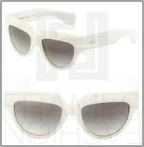 Prada Poeme Square PR29PS Ivory White Gradient Women Sunglasses Pr 29P PR29PS - $273.23