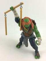 Teenage Mutant Ninja Turtles Movie Michelangelo Deluxe Combat Figure 201... - $13.32