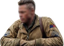 Fury Brad Pitt Wardaddy Battle Tank Commander WW2 Bomber Military Cotton Jacket image 1
