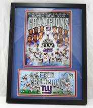 Rare USPS NY Giants Super Bowl XLVI Commemorative Stamped Dated Envelope... - $99.99