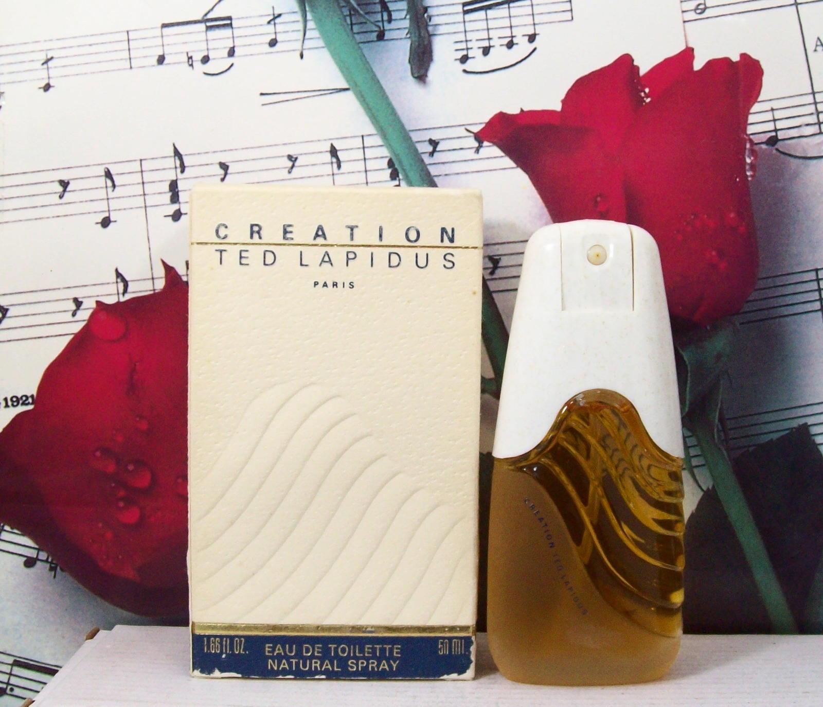 Creation By Ted Lapidus EDT Spray 1.66 FL. OZ. NWB. Vintage - $29.99