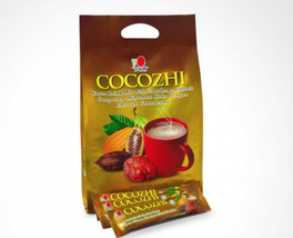2 Boxes Dxn Cocozhi Ganoderma Cocoa Drink 20 Sachets ( Express Shipping Dhl ) - $58.70