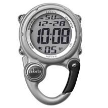 Dakota Digital Clip Mini Watch - Water Resistant - Silver - $39.59