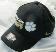 Nike Clemson Tigers 2018 National Champs Champions Locker Room Adjustable Hat - £12.97 GBP