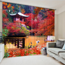 3D Pavilion300 Blockout Photo Curtain Printing Curtains Drapes Fabric Window UK - $145.49+