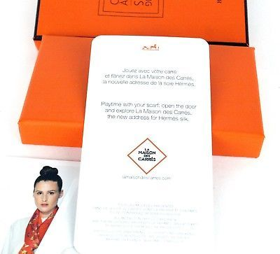 Hermes Cartes a Nouer Knotting Cards 21 HOW TO Knott Scarf Foulard Scarves Guide