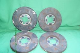 Set Wheel Brake Dust Cover Set Shield 4x108 image 3