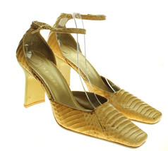 Nine West Womens Heels Shoes Tan Side Strap Career Business High Pumps S... - €17,19 EUR