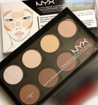 NYX PRO Contour & Highlight Palette 8 Beautiful Colors New In Box - $14.88