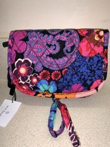 NWT Vera Bradley FLORAL FIESTA Jewelry Case Travel Organizer BNWTS - $34.64