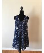 Jason Wu for Target Navy Floral Sleeveless Dress Size XS - $21.78