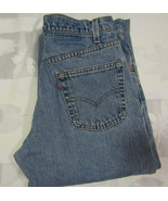 Vintage Levis Strauss 550 31 X 34 Mens Blue Jeans Made In USA Relaxed Fit - $34.99