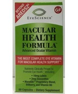 EyeScience - Macular Health Formula Advanced Ocular Vitamin, 60 caps Exp... - $32.46