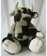 EXCELLENT Boyds Cow Brown & Gray [plush, stuffed animal] Jointed - $14.84