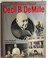 THE COMPLETE FILMS OF CECIL B DeMILLE by Ringgold (1969) Citadel illustr... - $12.86