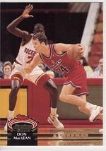 1992-1993 Topps Stadium Club #330 Don MacLean Washington Basketball Card  - $0.99