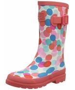Joules Kids' Jnr Welly Print Rain Boot Little Kid (4-8 Years) 10 Little Kid - $34.65