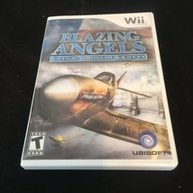 Blazing Angels: Squadrons of WWII (Nintendo Wii, 2007) - Complete w/ Manual - $3.59