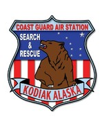 US Coast Guard Air Station Kodiak Sticker - $9.89