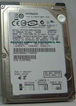 "NEW 60GB IDE 44PIN 2.5"" 9.5MM drive Hitachi HTE541660J9AT00 Free USA Ship - $48.95"