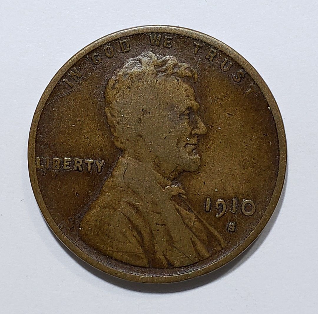 1910S LINCOLN PENNY CENT COIN LOT# E 262