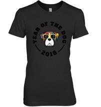 Mens Boxer Dog Year Of The Dog Chinese New Year 2018 TShirt - $19.99+