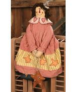 Primitive Decor  3D6047-Doll Folk Star Fabric  - $17.95