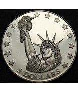 Liberia 2006 Joya Camafeo Prueba ~ Lady Liberty - $13.52