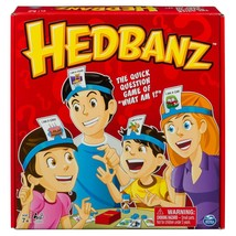 HedBanz Game Family Guessing the game where everybody knows by you! ORIG... - $15.83