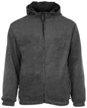 LAX Men's Premium Water Resistant Security Reversible Jacket With Removable Hood image 4