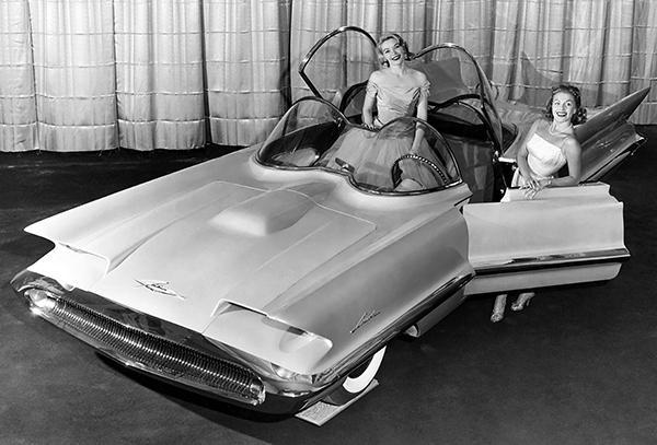 Primary image for 1955 Lincoln Futura Concept Car - Photo Poster