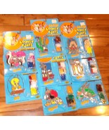 Lot of 8 ✰ Vintage BakeACraft Looney Tunes Stained Glass Kits taz sam NE... - $160.00