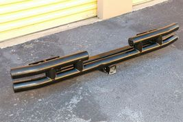 97-06 Chrysler Jeep Wrangler TJ Rear Metal Bumper W/ Tow Hitch SMITTYBILT image 6