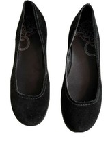 Merrell Womens Black Suede Ballet Flat 1147386 Size 7.5 Avesso - $31.68