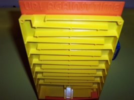 """RARE! ORIGINAL VINTAGE 1977 """"UP! AGAINST TIME"""" ANTIQUE GAME-COLLECTIBLE TOY image 5"""