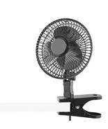 6-Inch Clip on Fan and Desk 2 in 1, Portable fot Bed, Treadmill Bike Ell... - $355,74 MXN