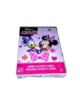 Minnie Mouse Jumbo Playing Cards. Minnie Mouse and Daisy Duck! FREE SHIP... - $5.04