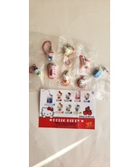 "Hello Kitty mini figure charms ""I Love Apples"" set of of 8 - $39.99"