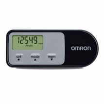 Omron Pedometer With Calories Burned Omron Black HJ-321-  7 Day memory - $82.25+