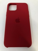 """Genuine Authentic Apple Silicone slim Case for iPhone X & XS 5.8"""" RED - $11.29"""