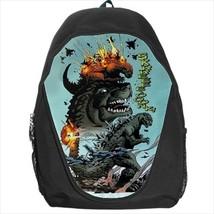 backpack godzilla mutant beast monster ocean city ataque - $39.79
