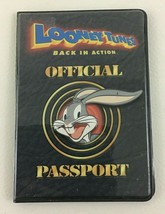 Looney Tunes Back In Action Official Passport Holder Map Ticket ID Card ... - $10.84